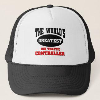 World's greatest air traffic controller trucker hat