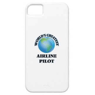 World's Greatest Airline Pilot iPhone 5 Case