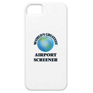 World's Greatest Airport Screener iPhone 5 Covers