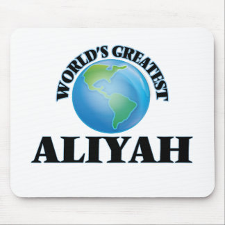 World's Greatest Aliyah Mouse Pad