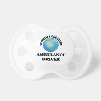 World's Greatest Ambulance Driver Pacifiers