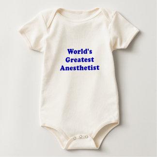 Worlds Greatest Anesthetist Baby Bodysuit
