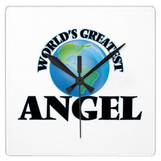 World's Greatest Angel Square Wall Clock