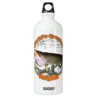 World's greatest angler SIGG traveler 1.0L water bottle