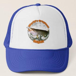 World's greatest angler trucker hat