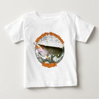 World's greatest angler tee shirt