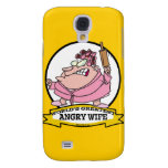 WORLDS GREATEST ANGRY WIFE CARTOON GALAXY S4 COVERS