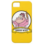WORLDS GREATEST ANGRY WIFE CARTOON iPhone 5 CASE