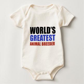 World's greatest Animal Breeder Baby Bodysuit