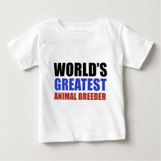 World's greatest Animal Breeder Baby T-Shirt