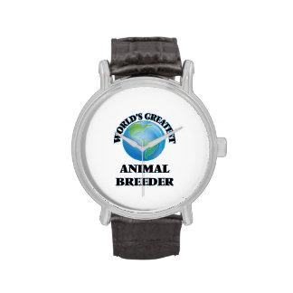 World's Greatest Animal Breeder Wrist Watches