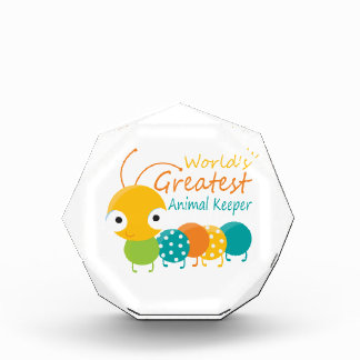 World's Greatest Animal Keeper Acrylic Award
