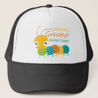 World's Greatest Animal Keeper Trucker Hat