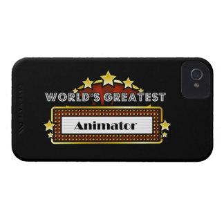 World's Greatest Animator iPhone 4 Cases