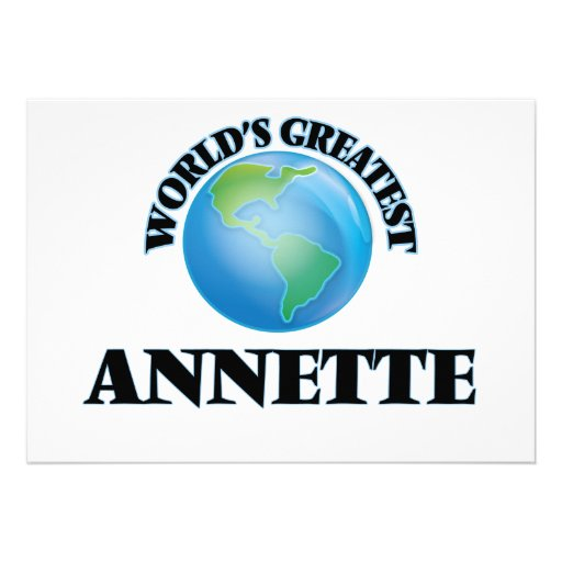 World's Greatest Annette Cards