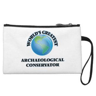 World's Greatest Archaeological Conservator Wristlet Wallet