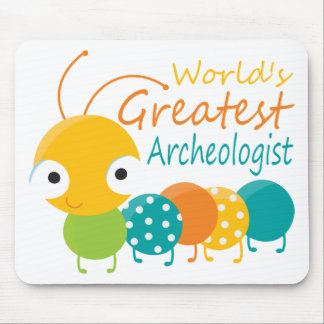 World's Greatest Archaeologist Mouse Pad