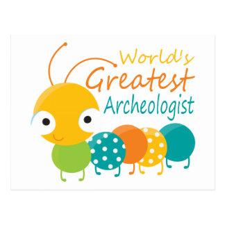World's Greatest Archaeologist Postcard
