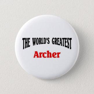 World's Greatest Archer Pinback Button