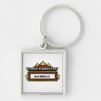 World's Greatest Architect Key Chains