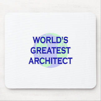 WORLD'S GREATEST ARCHITECT MOUSE PAD