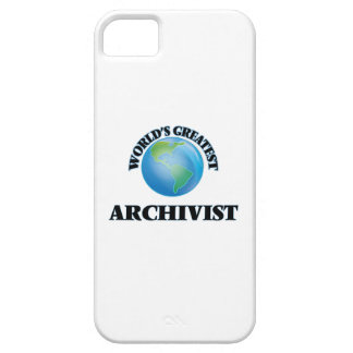World's Greatest Archivist iPhone 5 Cases