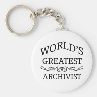 World's greatest Archivist Keychains
