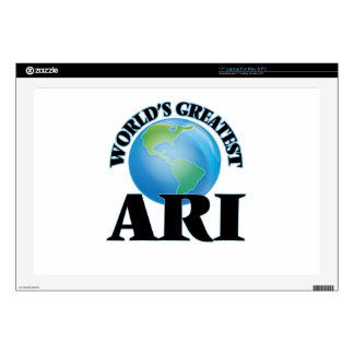 "World's Greatest Ari 17"" Laptop Skin"