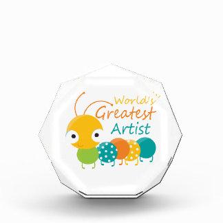 World's Greatest Artist Acrylic Award
