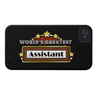 World's Greatest Assistant iPhone 4 Case-Mate Case