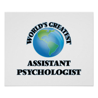 World's Greatest Assistant Psychologist Poster
