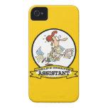 WORLDS GREATEST ASSISTANT WOMEN CARTOON iPhone 4 CASE
