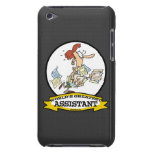 WORLDS GREATEST ASSISTANT WOMEN CARTOON iPod TOUCH COVER
