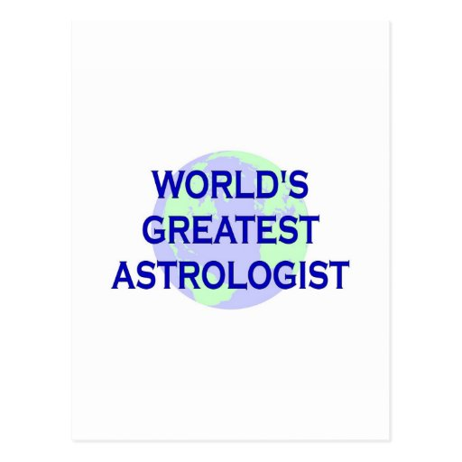 World's Greatest Astrologist Postcard