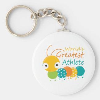 World's Greatest Athlete Keychain