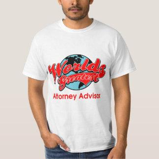 World's Greatest Attorney Advisor T-Shirt