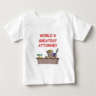 world's greatest attorney baby T-Shirt