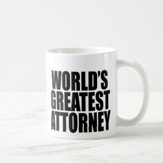 World's Greatest Attorney Classic White Coffee Mug