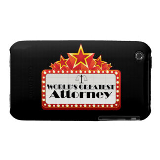 World's Greatest Attorney iPhone 3 Cover