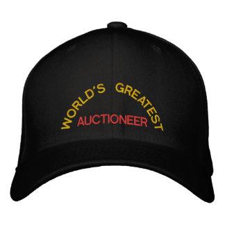 WORLD'S GREATEST, AUCTIONEER CAP