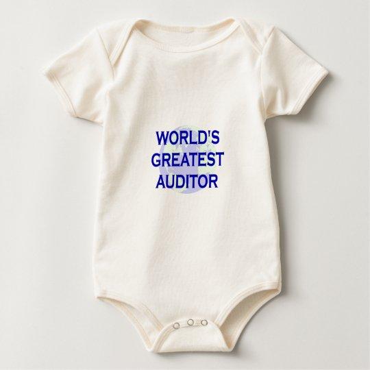 WOrld's Greatest Auditor Baby Bodysuit