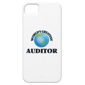 World's Greatest Auditor iPhone 5 Covers