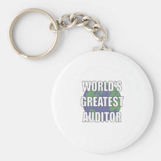 WOrld's Greatest Auditor Keychain