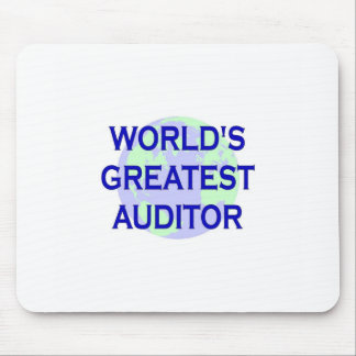 WOrld's Greatest Auditor Mouse Pad