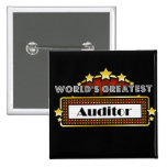World's Greatest Auditor Pin