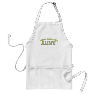 World's Greatest Aunt! Aprons