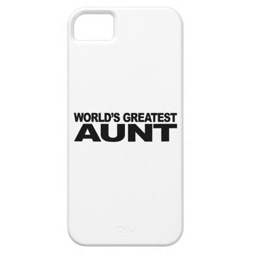World's Greatest Aunt iPhone 5 Case