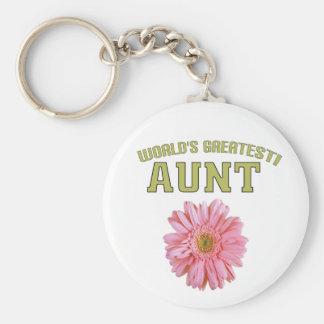 World's Greatest Aunt! Key Chain