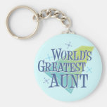 World's Greatest Aunt Key Chains
