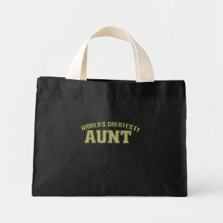 World's Greatest Aunt! Mini Tote Bag